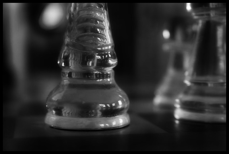 knight on a chess board