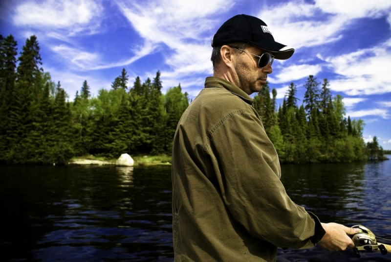 The Fishing Man - I