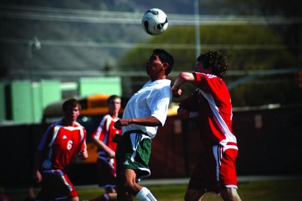 soccer head hits