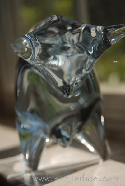 glass bull