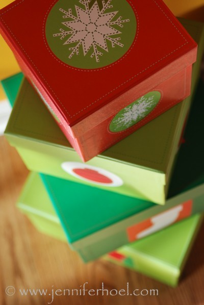 photo of christmas gifts presents boxes