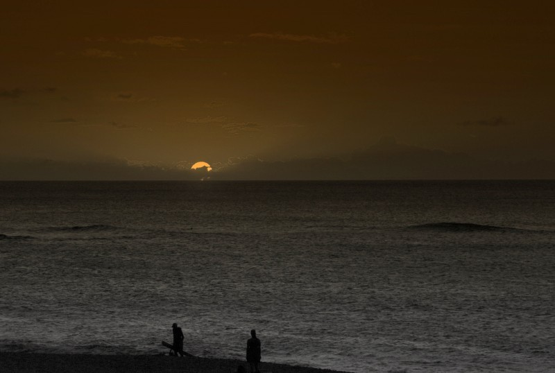 Sunset Atlast....