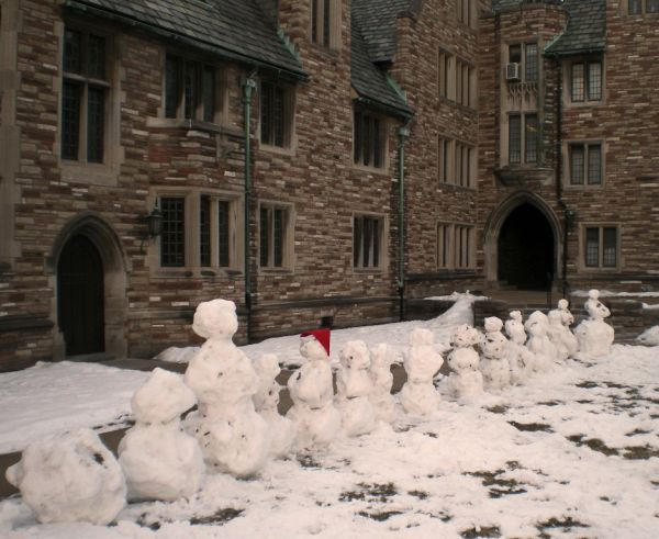 Snow Man's Row