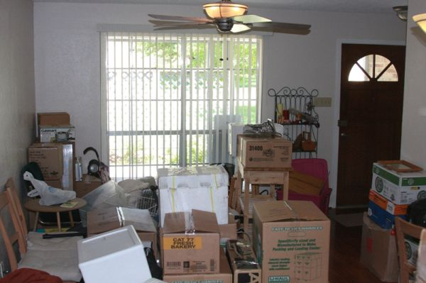 Moving: Dining Room