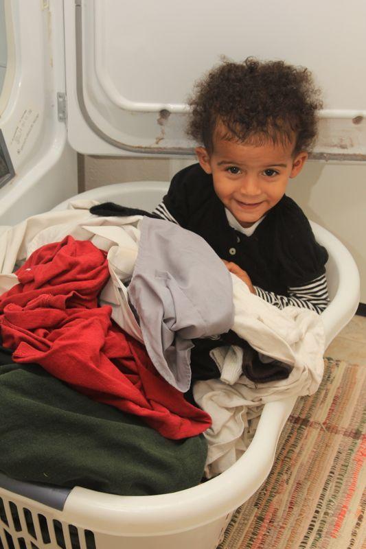 Magic Laundry Basket Ride