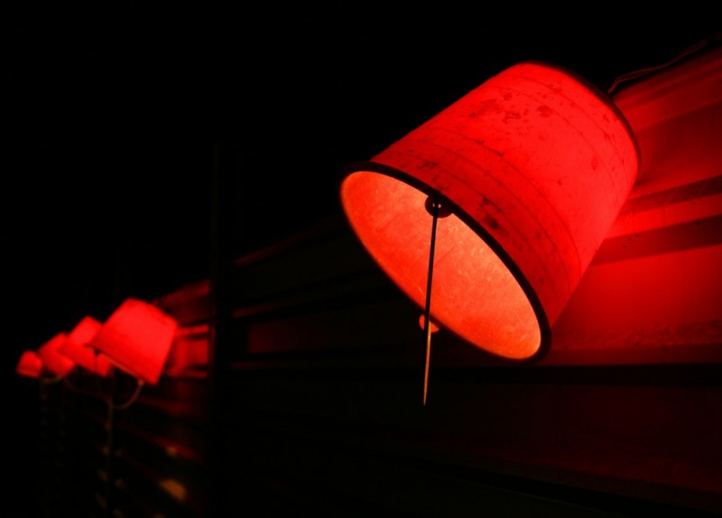 Licht, Rotes Licht