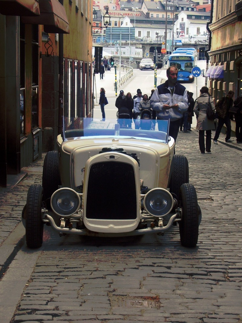 Old Car in Old Town