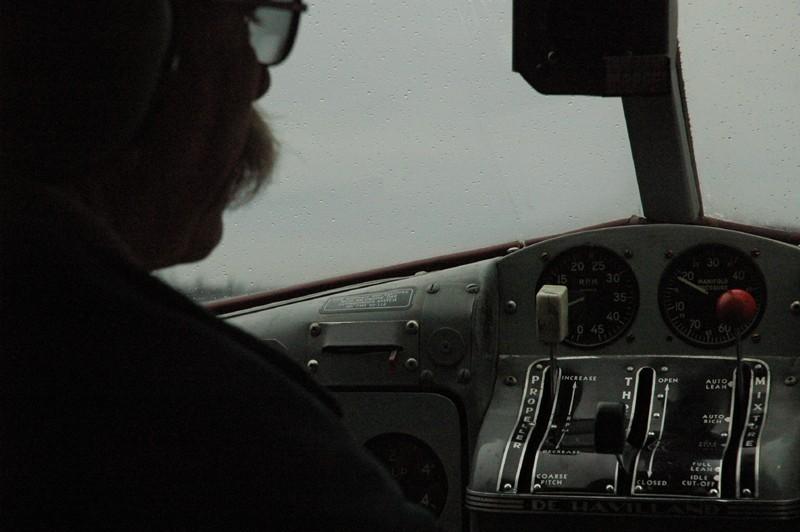 Overcast Flight