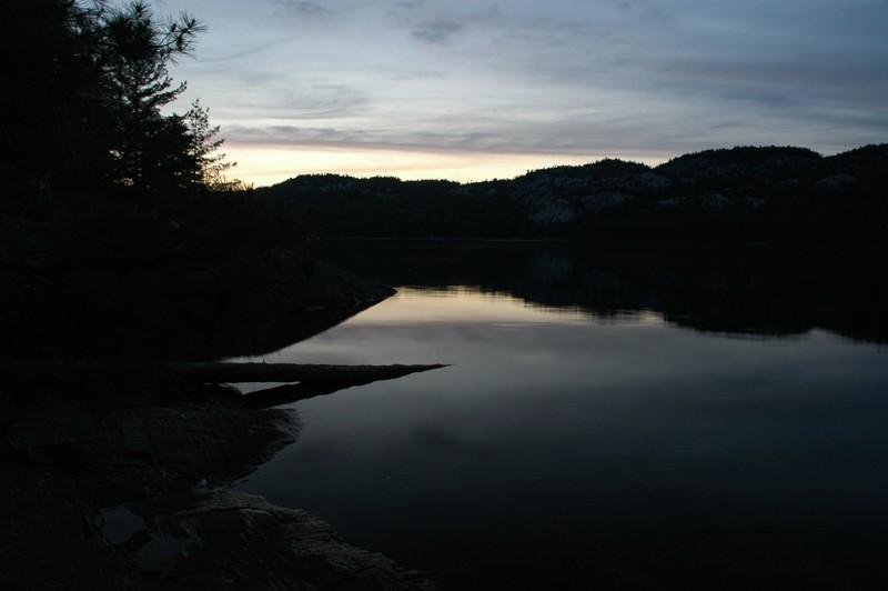 O.S.A. Lake Sunset Remains