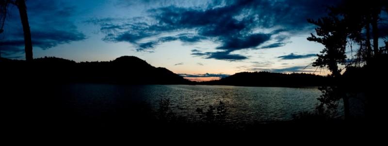 Grace Lake Sunset