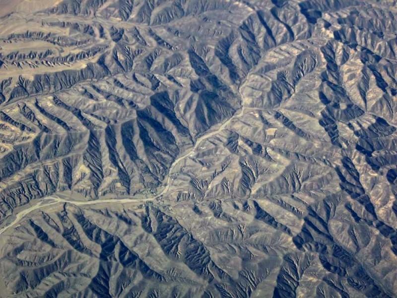 aerial valleys China