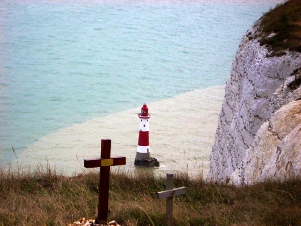 lighthouse at Beachy Head, East Sussex