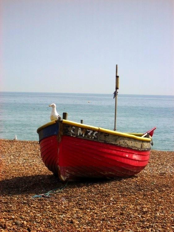 Fishing boat, Brighton beach