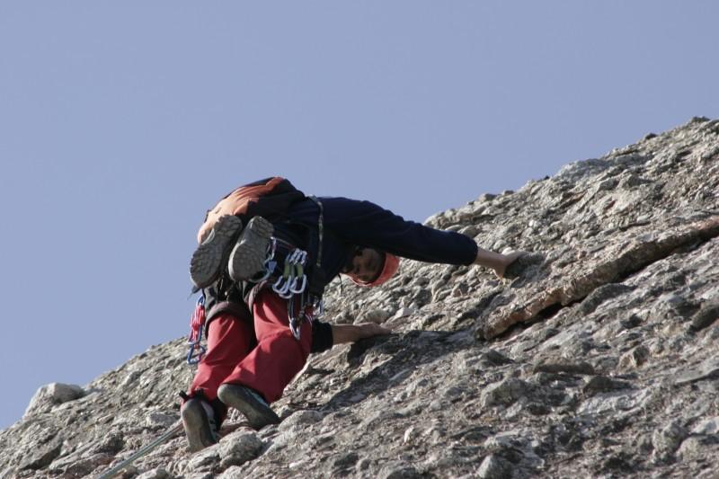 climbing up 2
