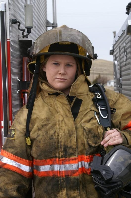 Firefighter Jill