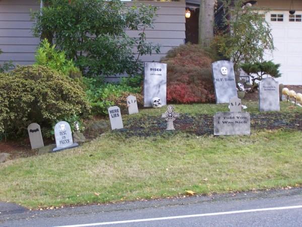 Halloween Graveyard