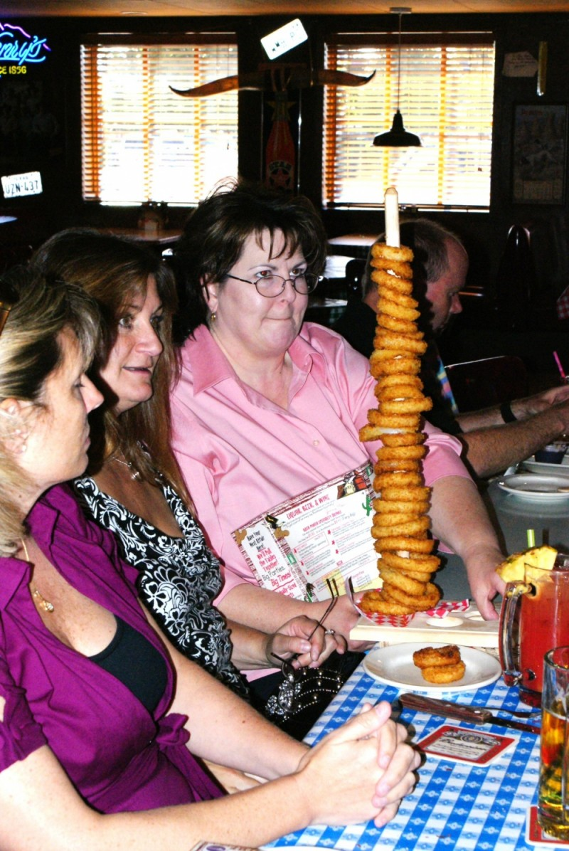 onion ring tree