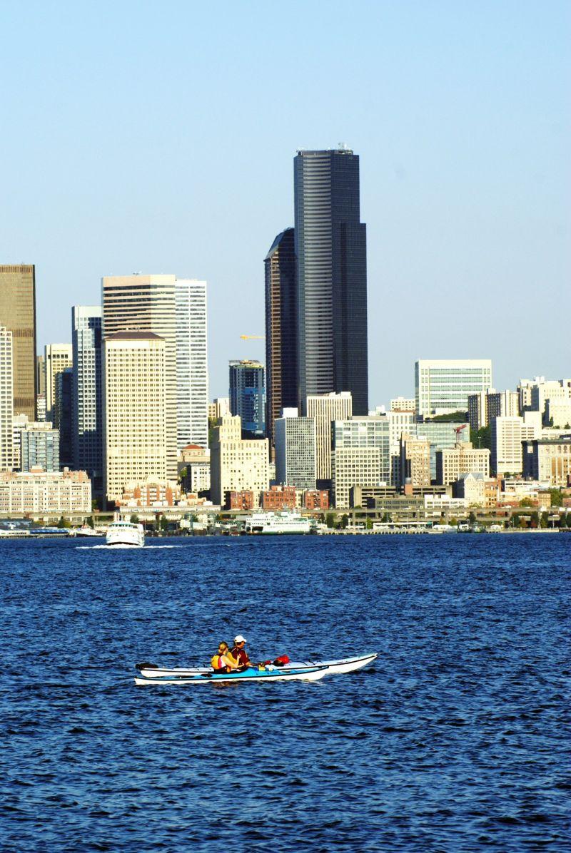 seattle kayaker