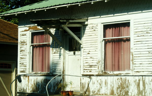 worn out house