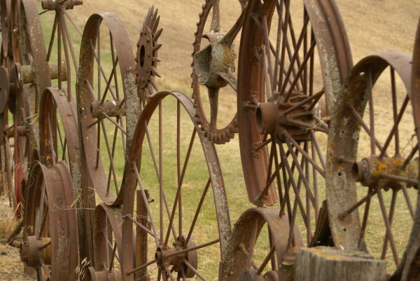 wheel fence