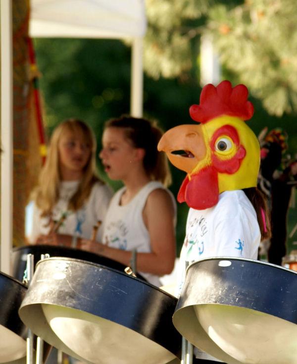 steel drum chicken