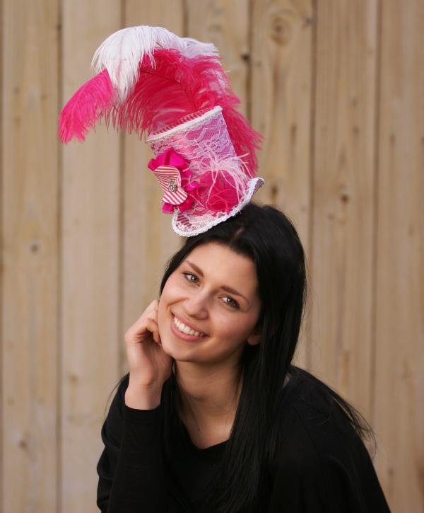 corrin in pink
