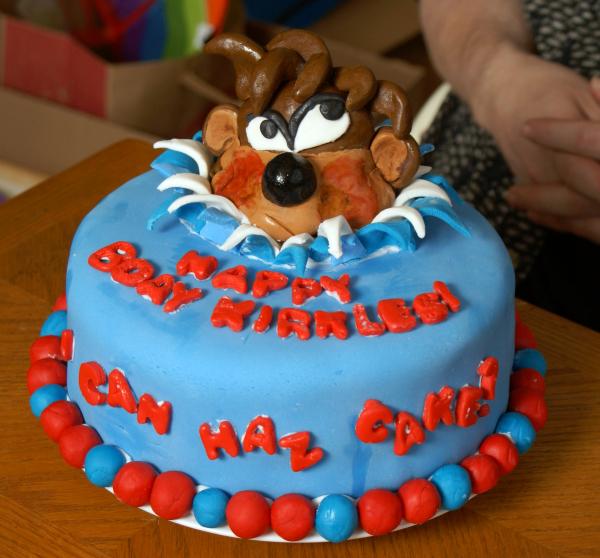 taz cake