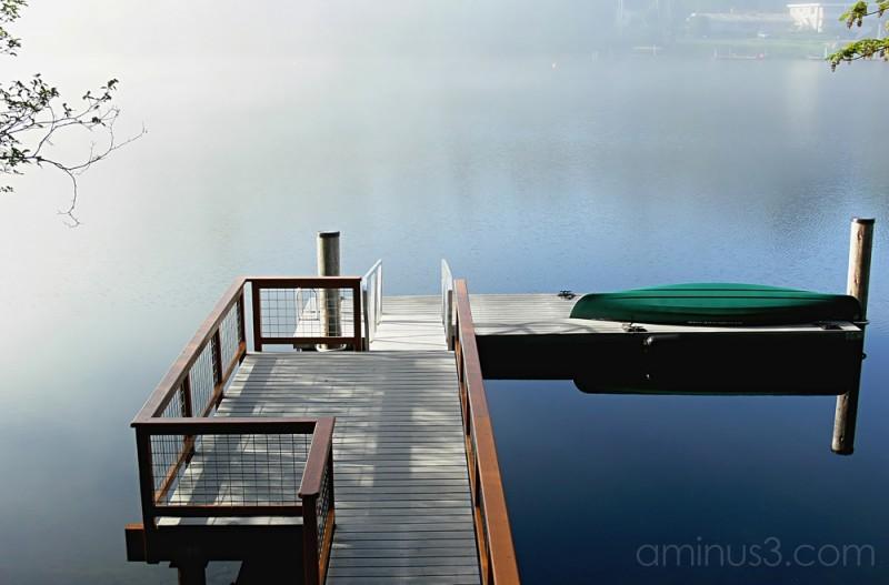 Morning on Lake Samish ,Washington State ,USA