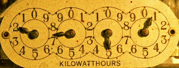 my electric meter