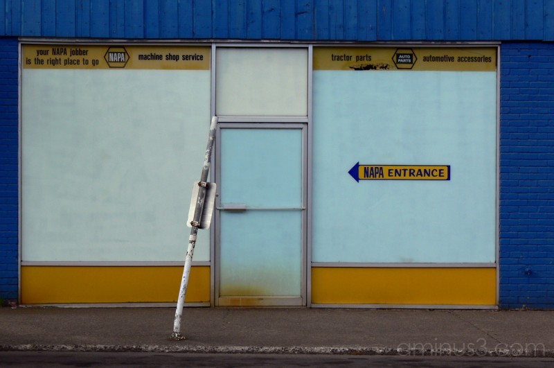 Napa Auto Parts Store, Morton,Washington,USA