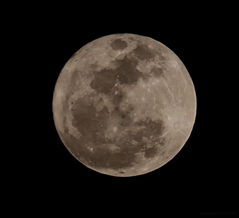 Plenilunio. Perigeo. Luna.