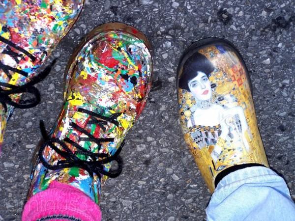 artistic feet