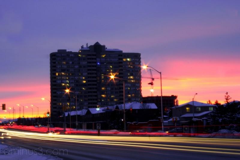 Rush Hour Sunset