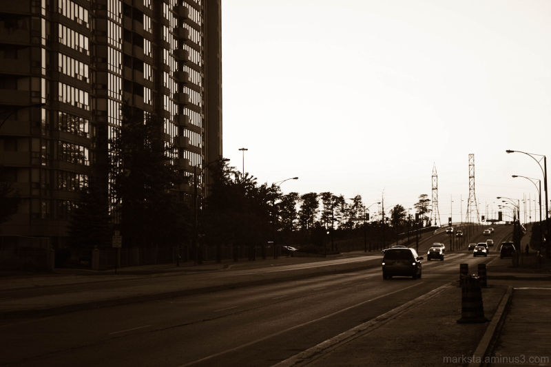 Cityscape Shadows