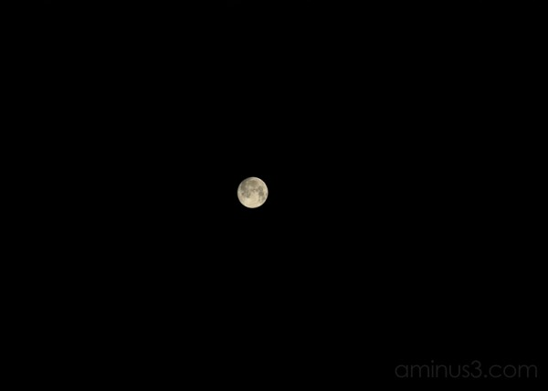 moon, sky
