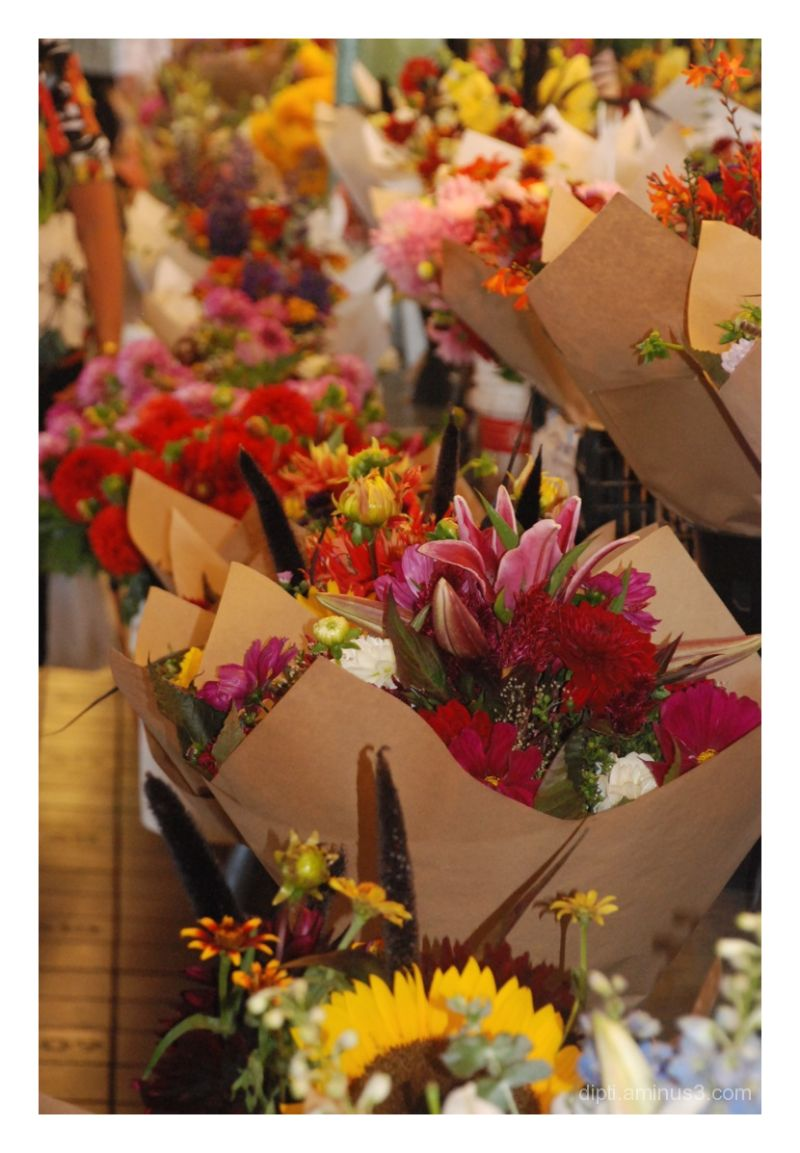 Flower Market at Pike Place, Seattle