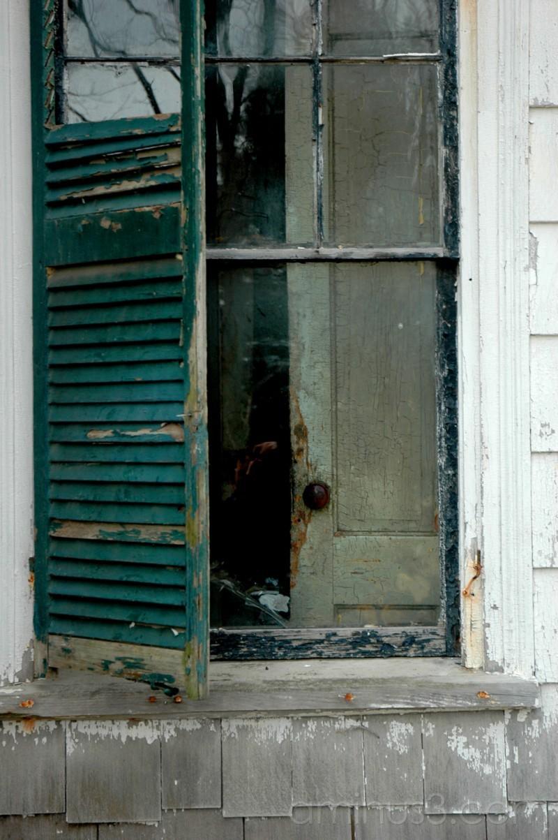 Old farmhouse window