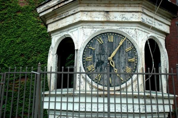 Old clock tower Biddeford, Maine
