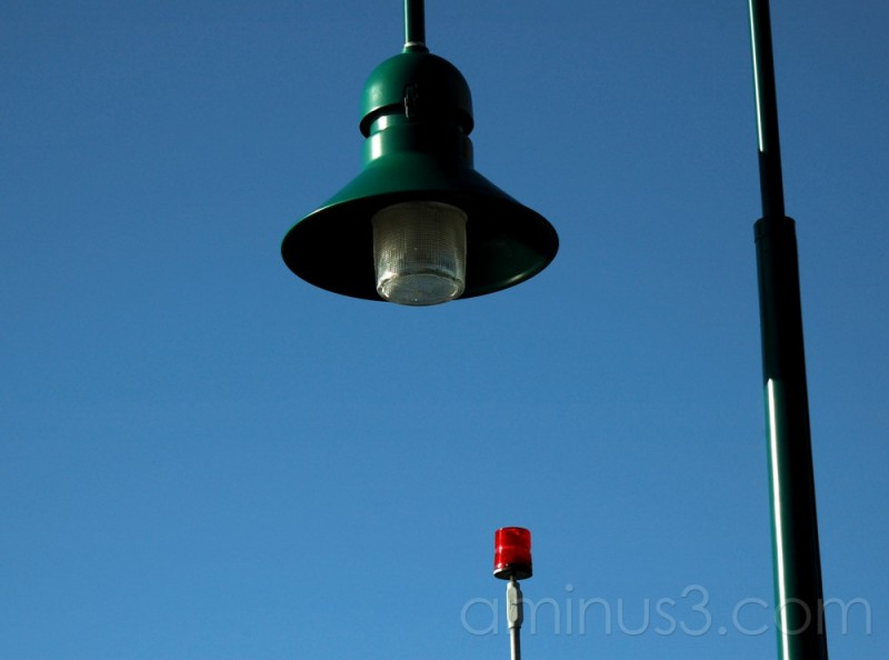 Lights at Casco Bay Bridge