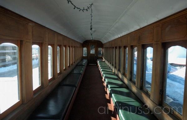 Maine Narrow Gauge Railway car