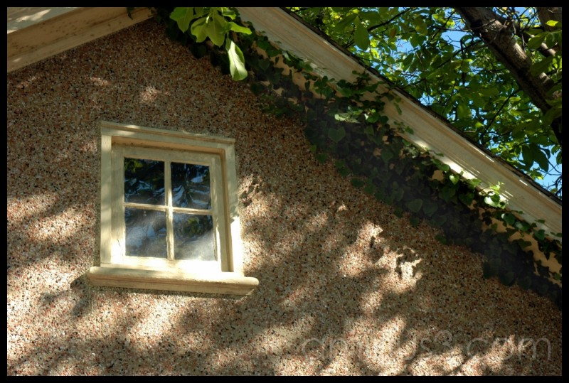 The window under the eaves