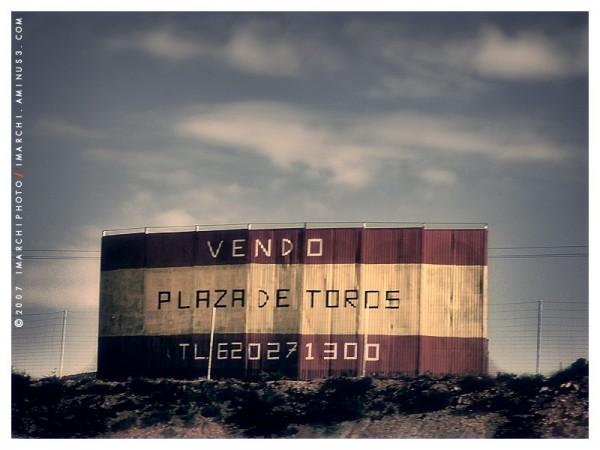 Se vende...Plaza de Toros