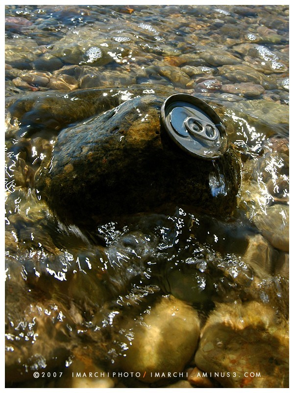 Refreshing Soda at the Sea