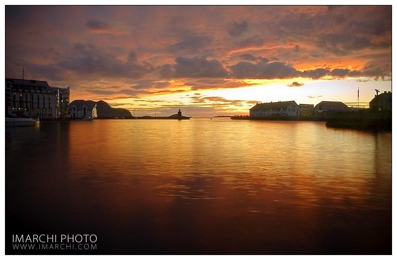 Sunset Alesund