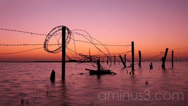 Sunrise at Lake Alexandrina