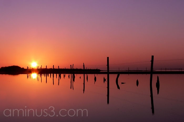 Sunrise over Lake Alexandrina