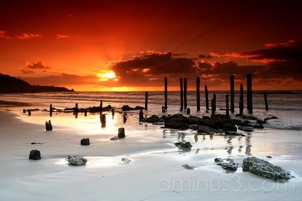 Sunset at Pt Willunga