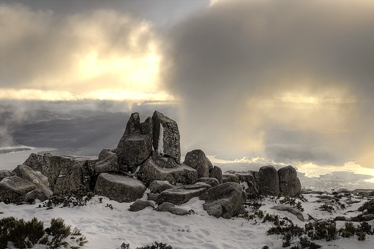 The Pinnacles at Mt Wellington, Hobart