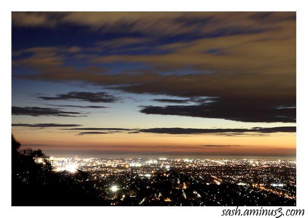 Sunset near Norton summit, South Australia