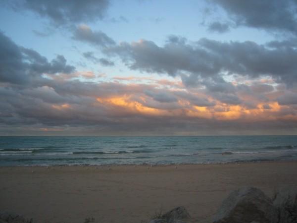 Great Lake Sunset